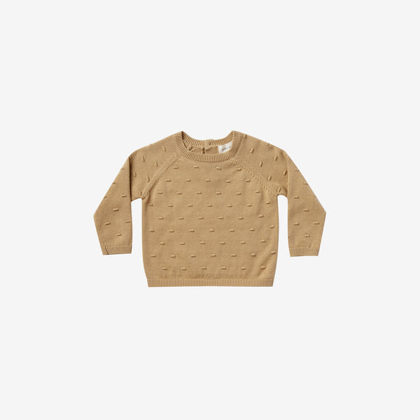 Organic Knit Bailey Sweater - Honey