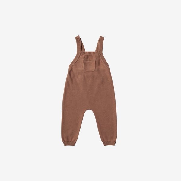 Organic Sweater Knit Overall - Clay