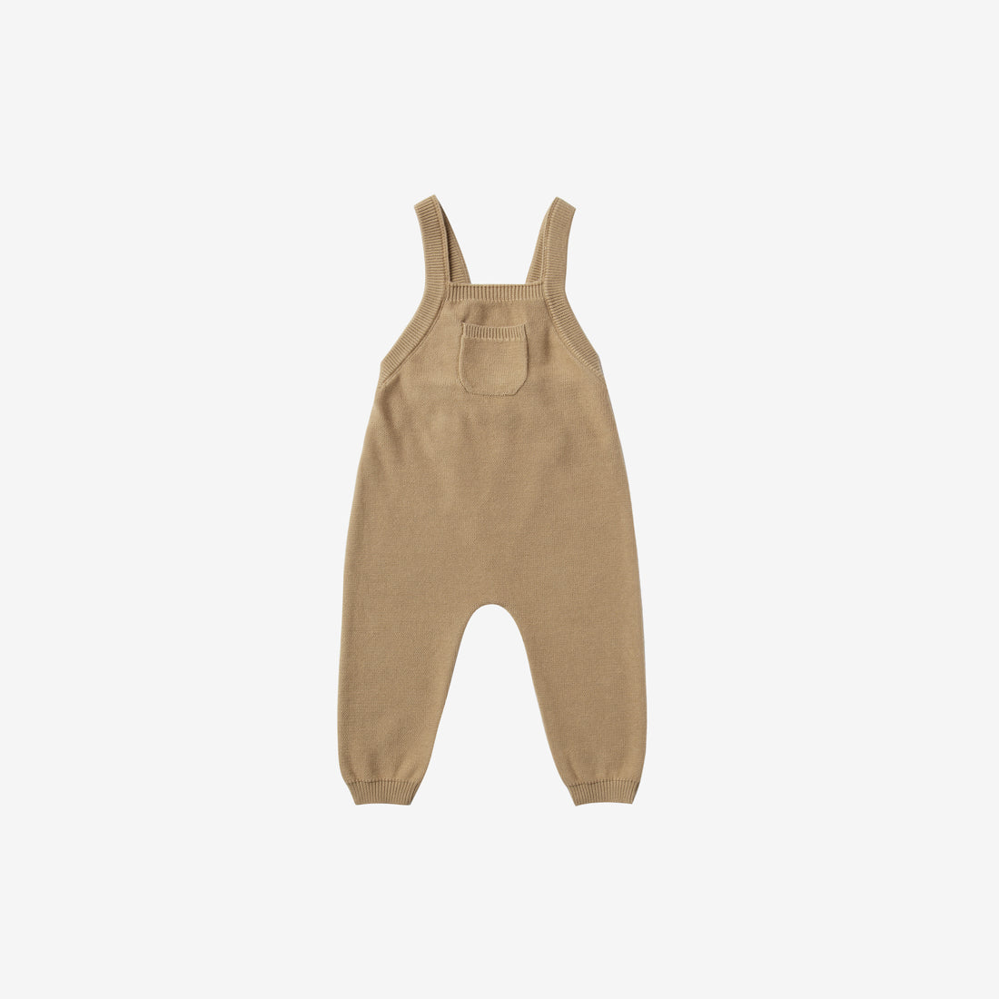 Organic Sweater Knit Overall - Honey