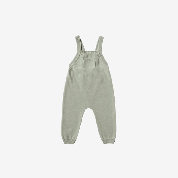 Organic Sweater Knit Overall - Sage