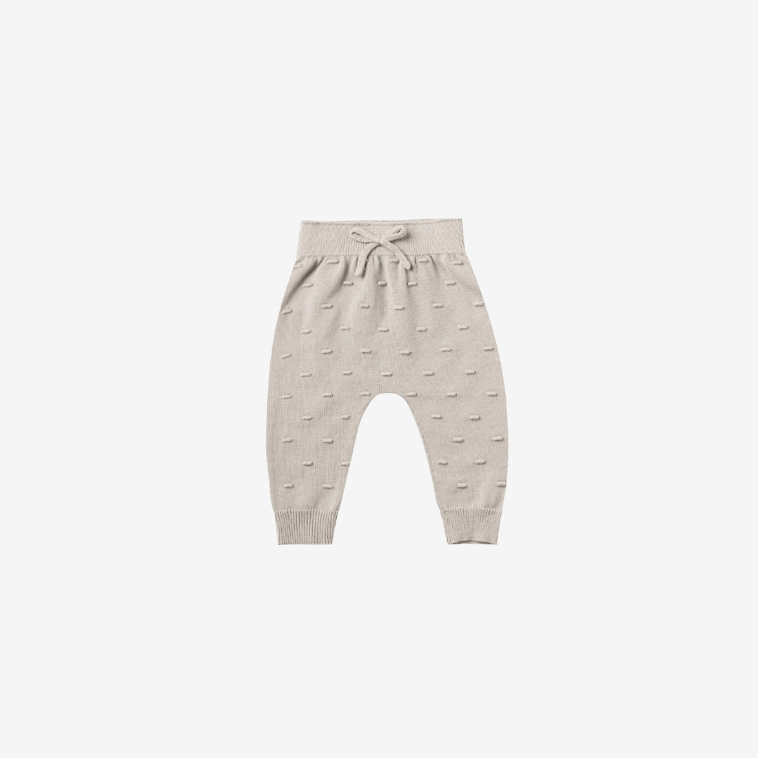 Organic Sweater Knit Baby Pant - Fog