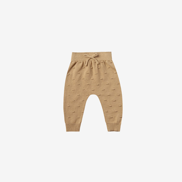 Organic Sweater Knit Baby Pant - Honey