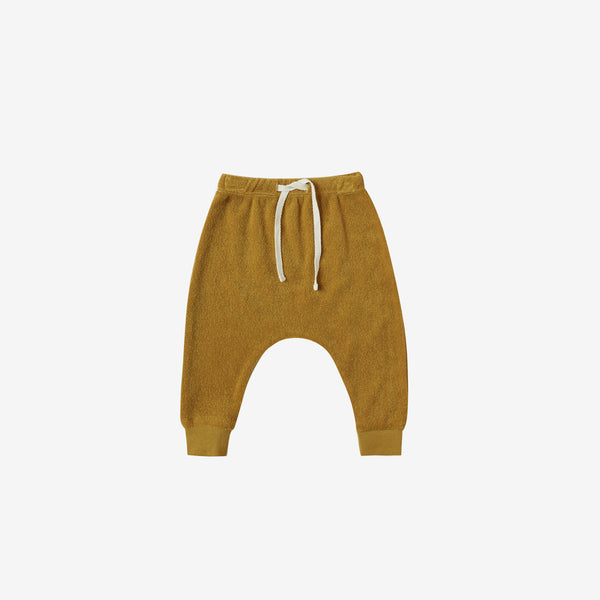 Organic Terry Sweatpants - Ochre