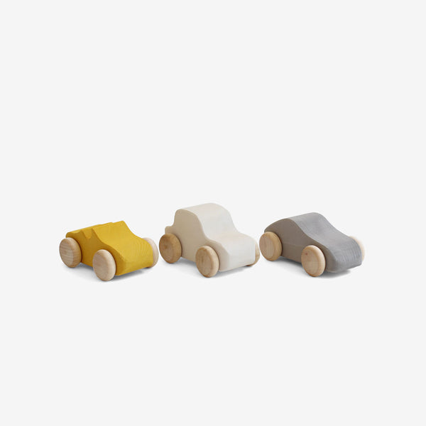 Little Wooden Cars Set of 3