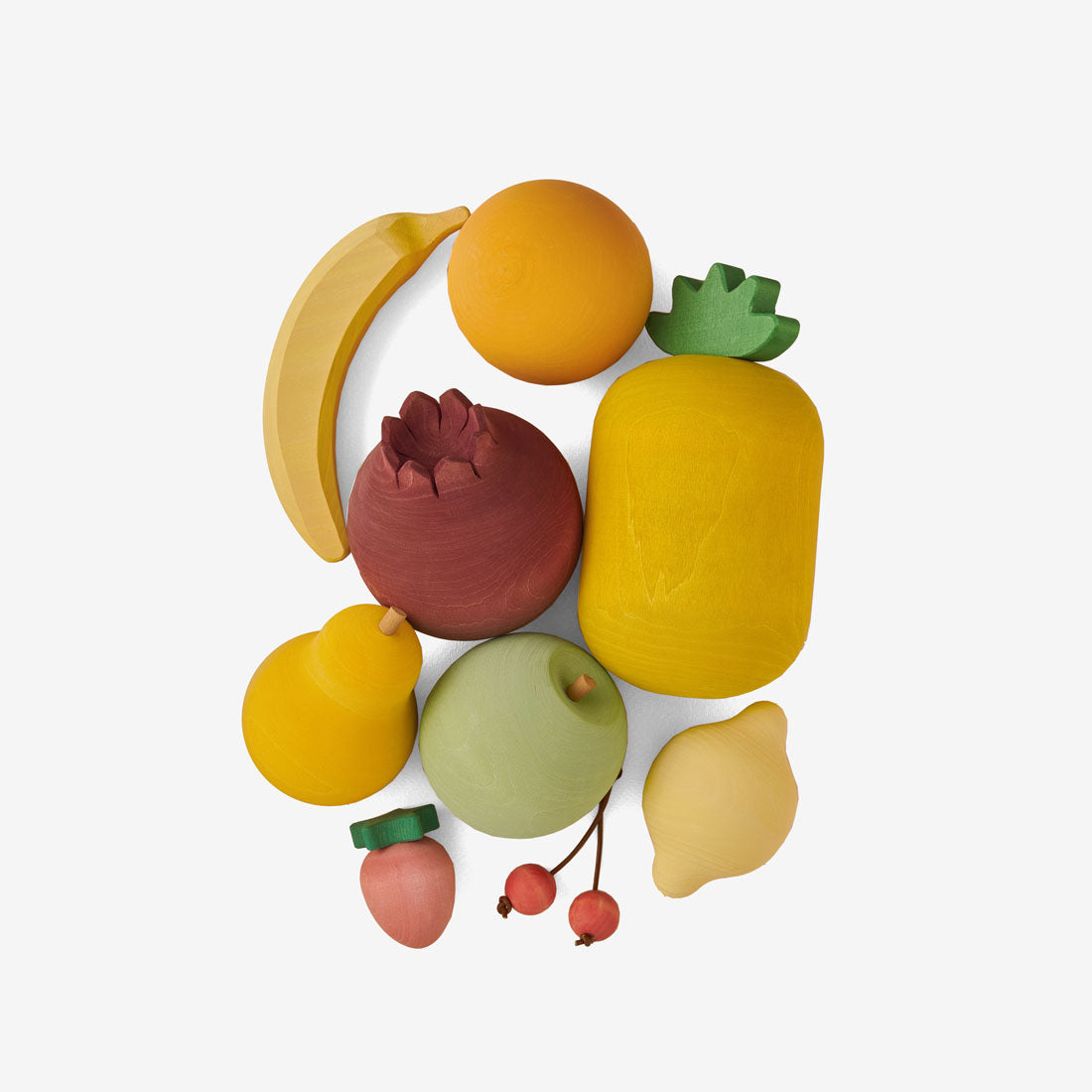 Wooden Foods Play Set - Fruit