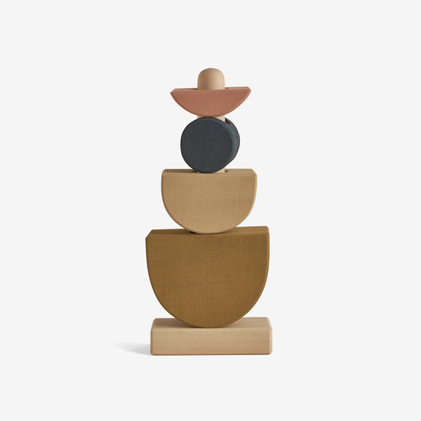 Hardwood Stacking Tower - Shapes