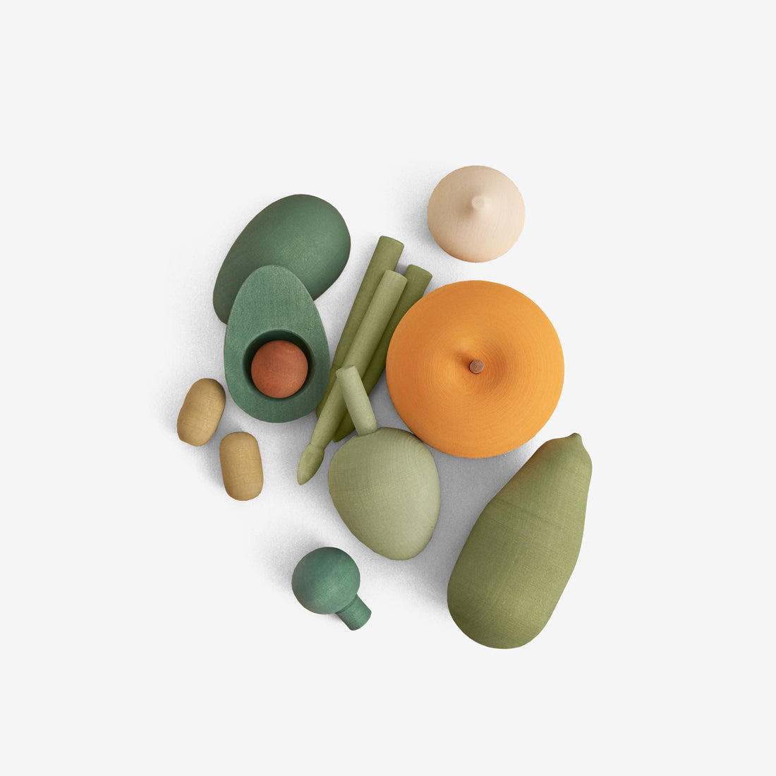 Wooden Foods Play Set - Veggies Vol2