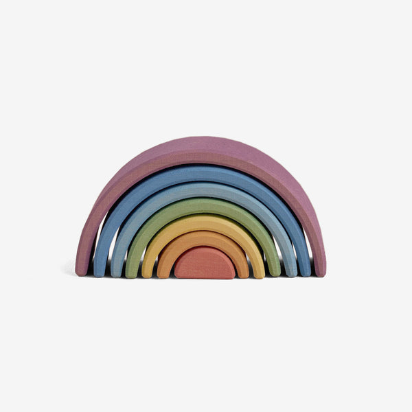 Wooden Arch Stacker - Rainbow