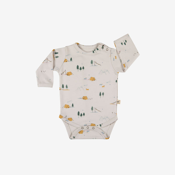 Base Camp Pima L/S Onesie