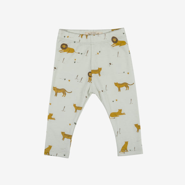 Big Cats Leggings - Seafoam