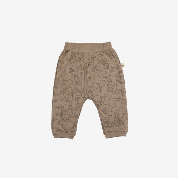 Canopy Organic Pima Baggy Baby Pants - Taupe