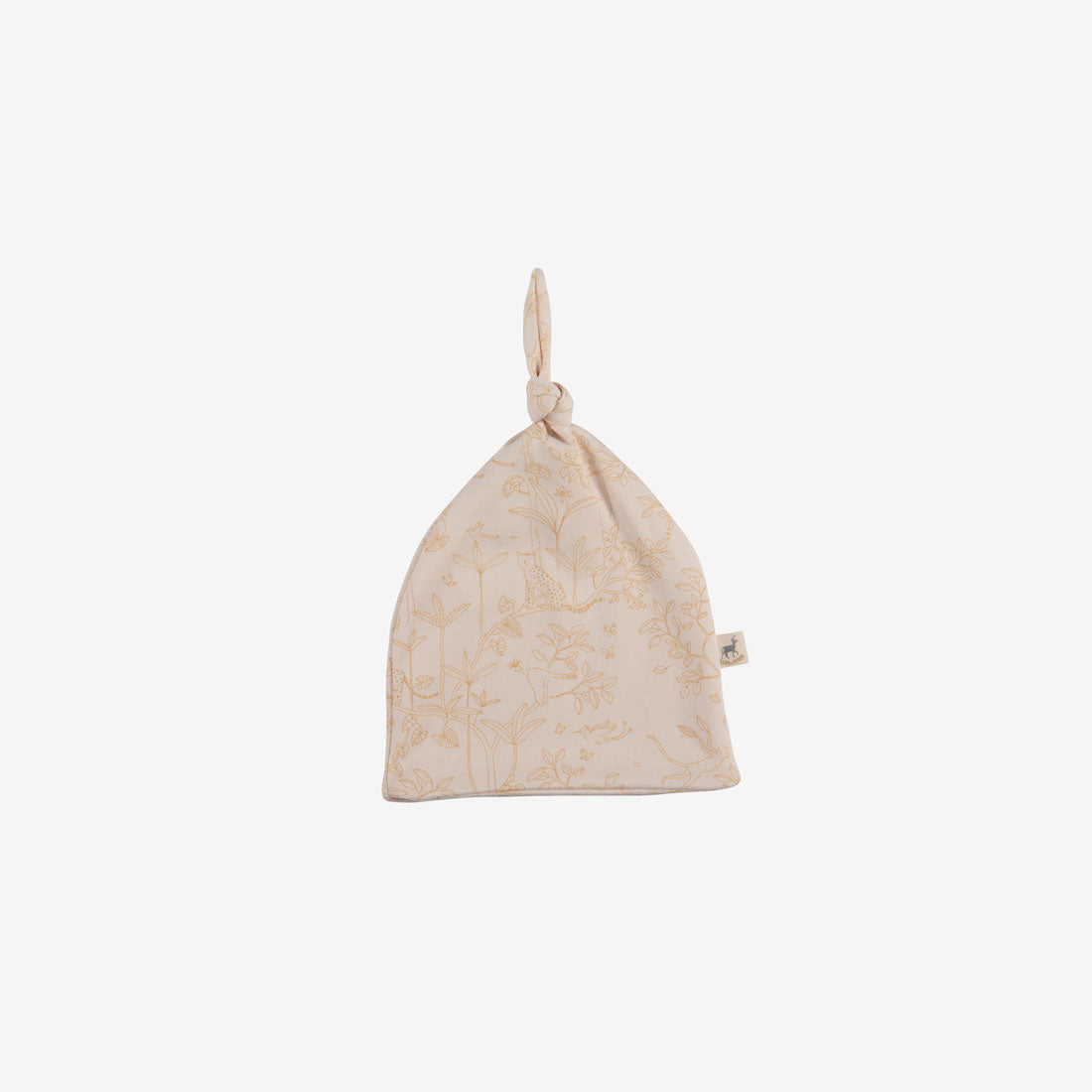 Canopy Organic Pima Knotted Beanie - Pink Tint