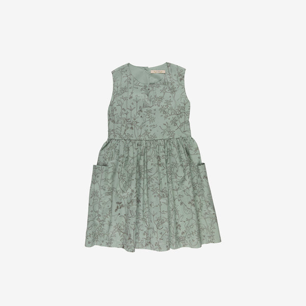 Canopy Organic Pima Woven Pockets Dress - Jadeite