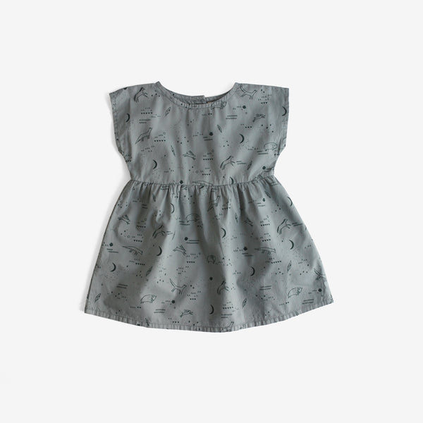 Desert Night Woven Pima Baby Dress