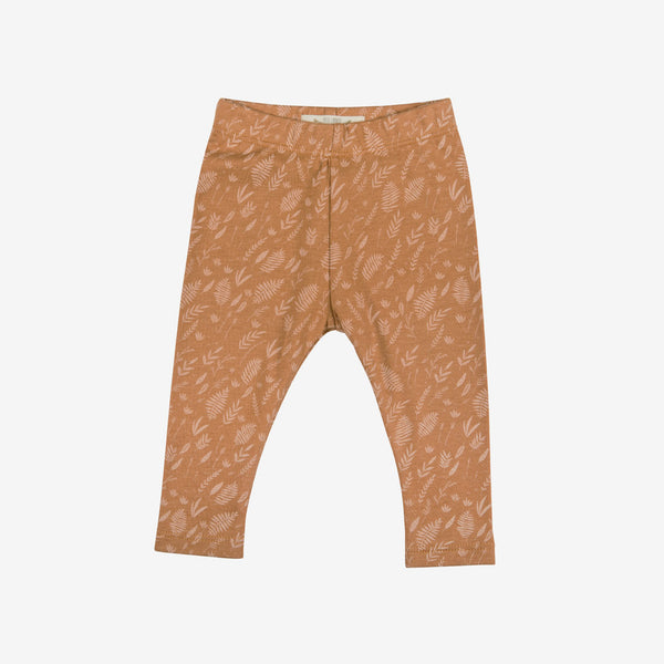 Foliage Leggings - Terracotta