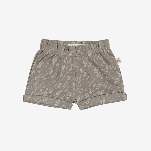 Foliage Safari Shorts - Taupe
