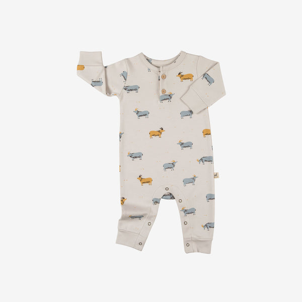 Golden Blue Goat Pima Jumpsuit