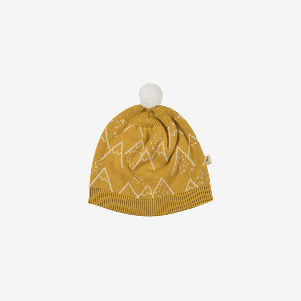 Little Mountains Pima Knit Beanie - Arrowwood