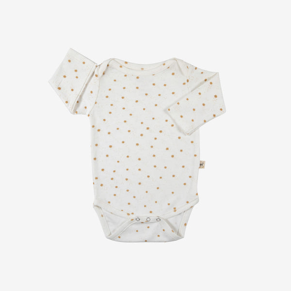 Magic Flakes Organic L/S Onesie