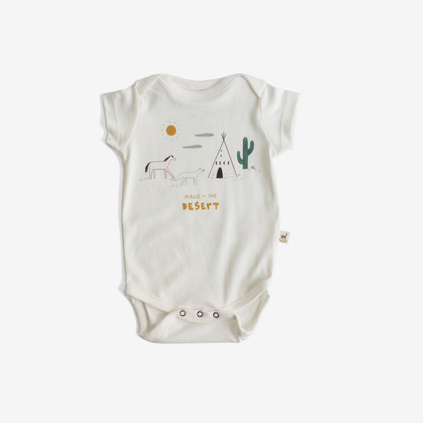 Magic in the Desert Organic Pima S/S Onesie