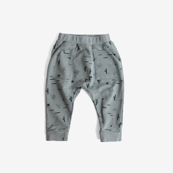 Native Desert Pima Terry Jogger - Lead
