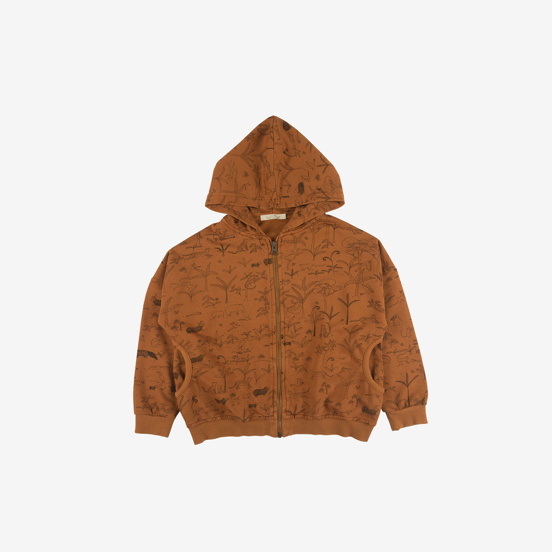 The Story Organic Pima French Terry Hoodie - Ginger