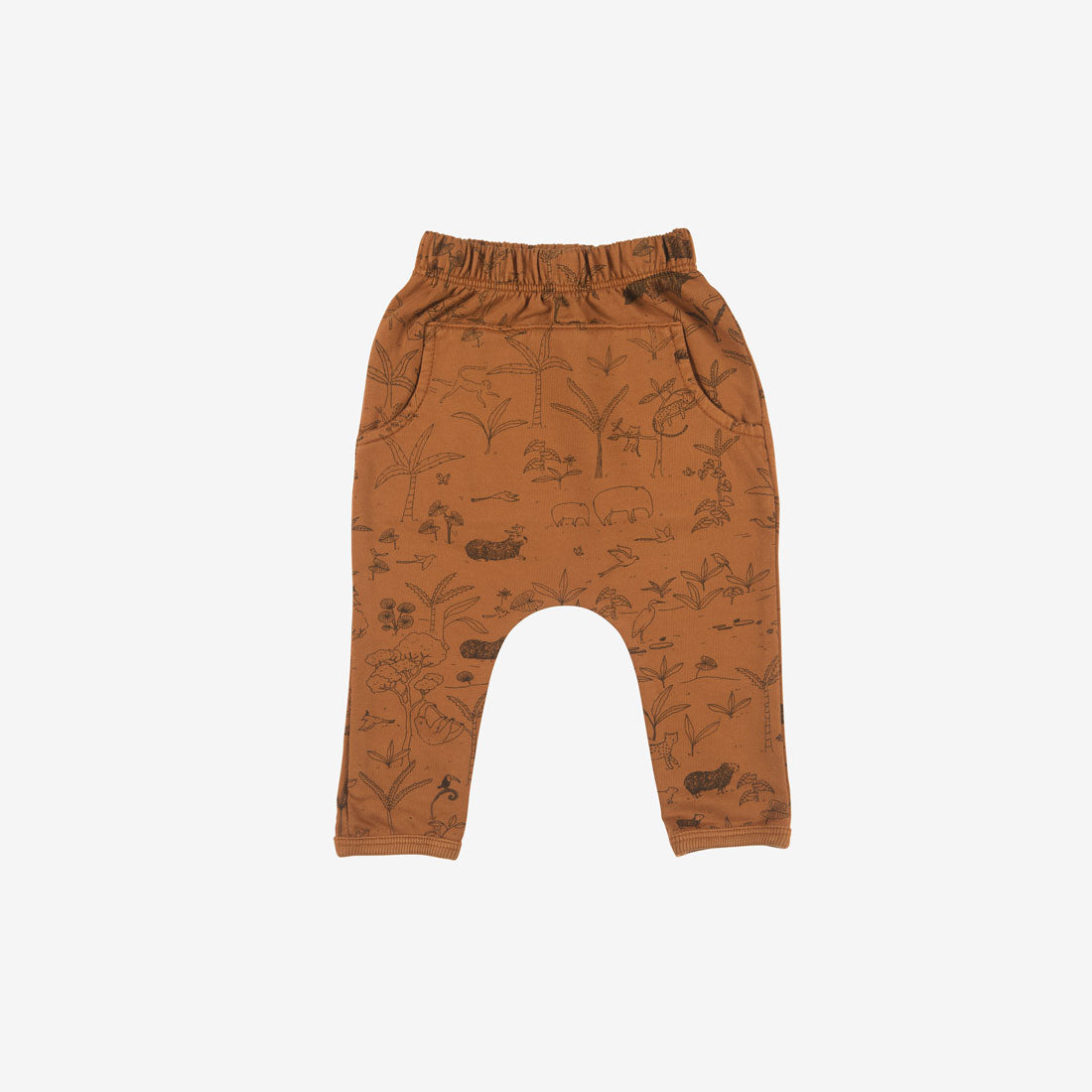 The Story Organic Pima French Terry Jogger - Ginger