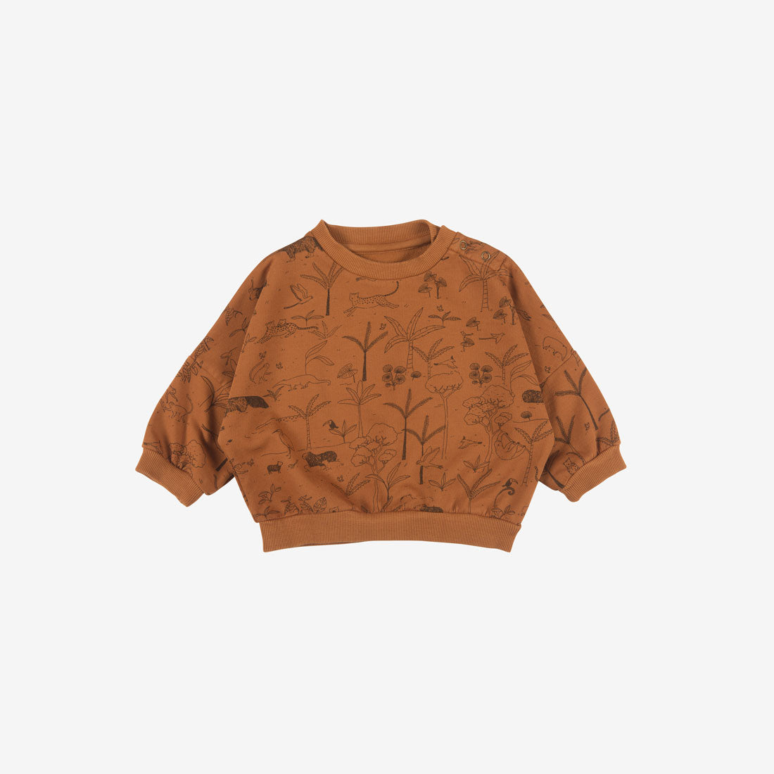 The Story Organic Pima French Terry Sweatshirt - Ginger