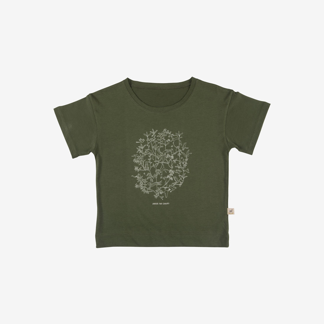 Under the Canopy Organic Pima S/S Tee - Chive