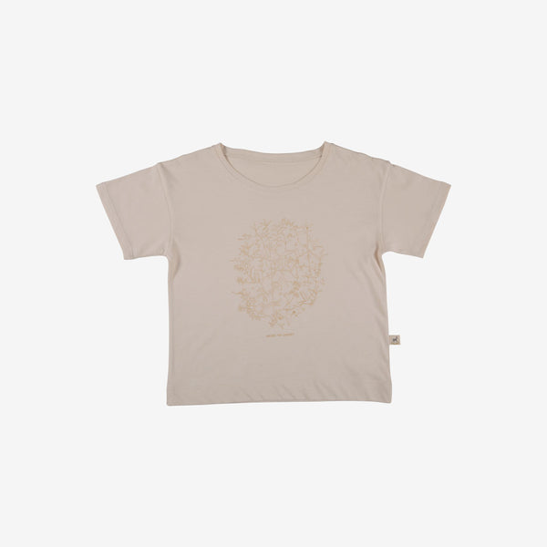 Under the Canopy Organic Pima S/S Tee - Pink Tint