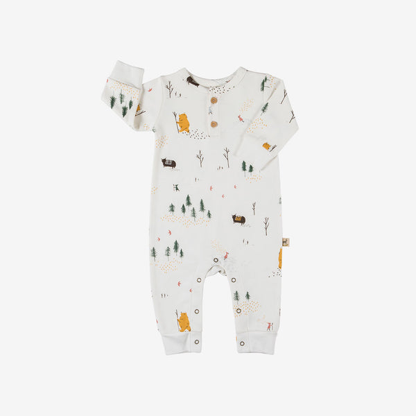 Up the Mountain Organic Pima Jumpsuit