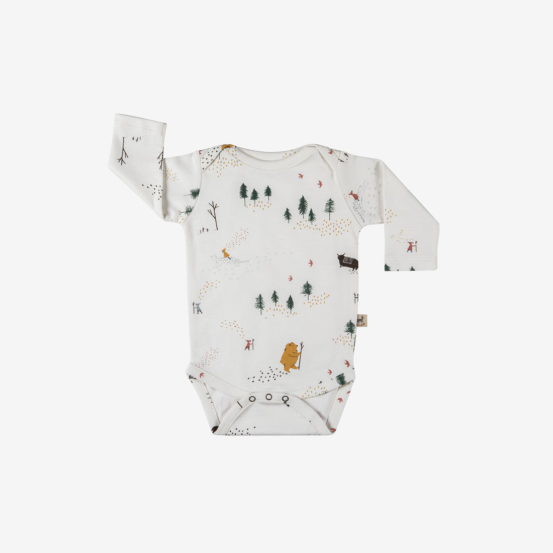 Up the Mountain Organic Pima Onesie