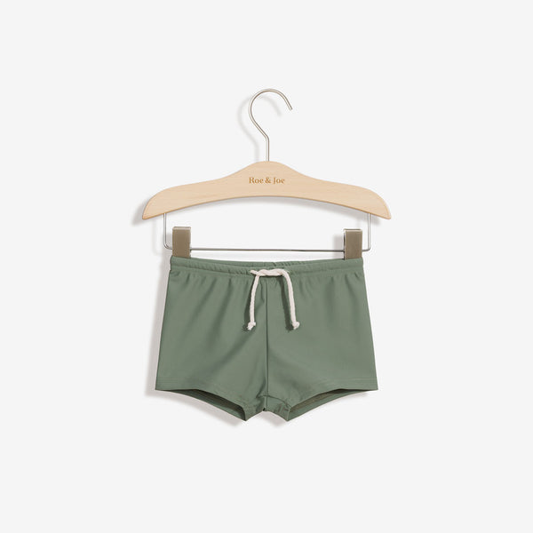 ECONYL® Sustainable Swim Trunks - Khaki