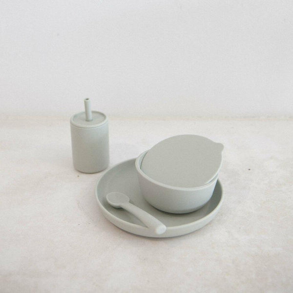 Silicone 6-Piece Dinner Set - Cloud