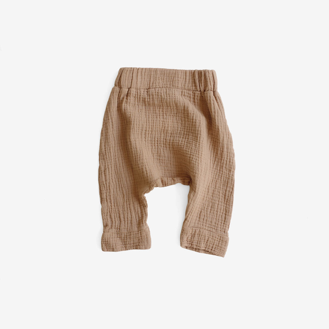 Jones Gauze Harem Pant - Toffee