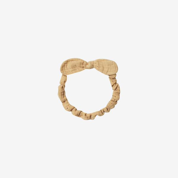 Baby Bow Headband - Honey