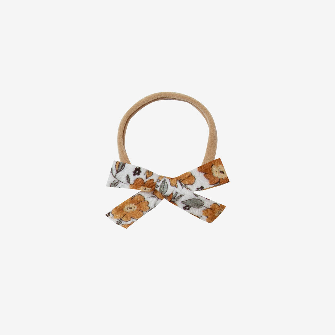 Classic Bow Headband - Autumn Bloom