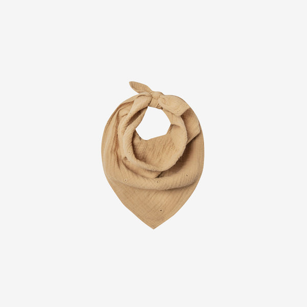 Cotton Neck Scarf - Honey Eyelet
