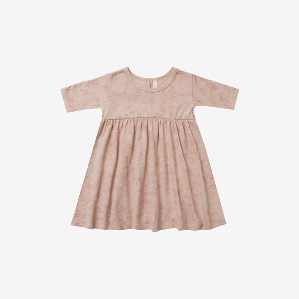 Finn Jersey Dress - Garden Rose