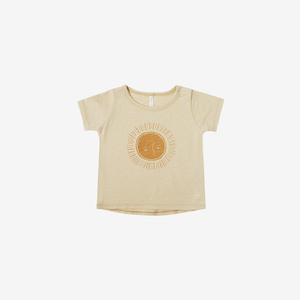 Basic Cotton S/S Tee - Sun
