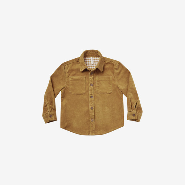 Cotton Corduroy Oliver Shirt - Goldenrod