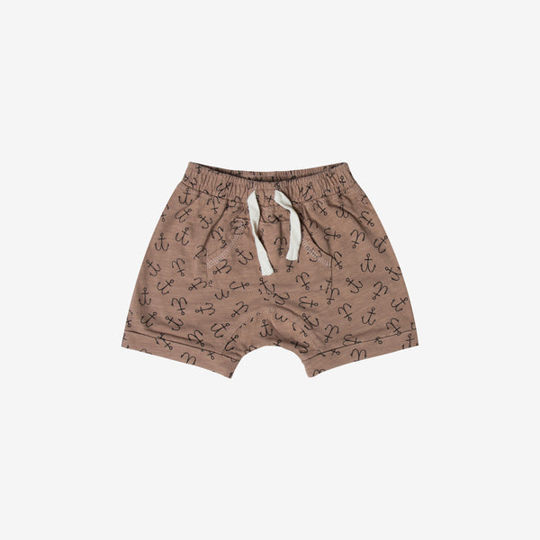Anchor Front-Pouch Short