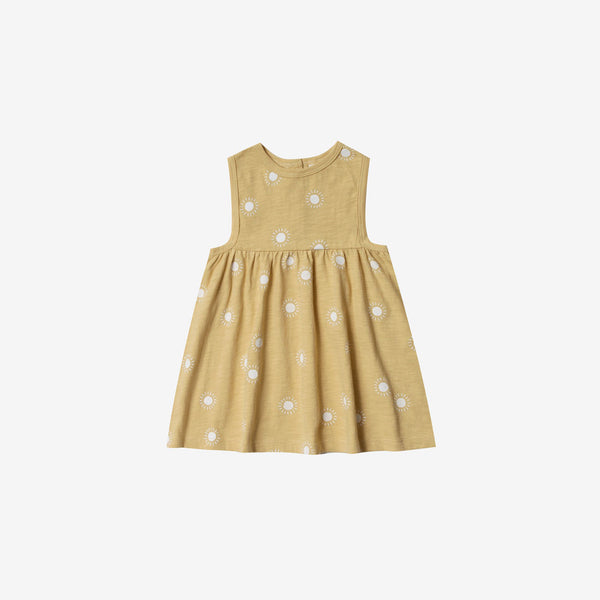 Layla Cotton Jersey Sundress - Sunburst