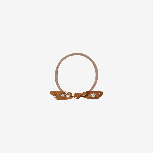 Little Knot Headband - Cinnamon Ditsy Floral