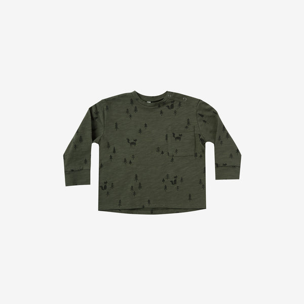 Forest Woods L/S Skater Tee