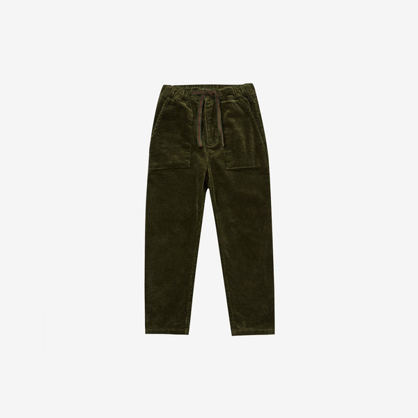 Cotton Corduroy Oliver Pant - Forest
