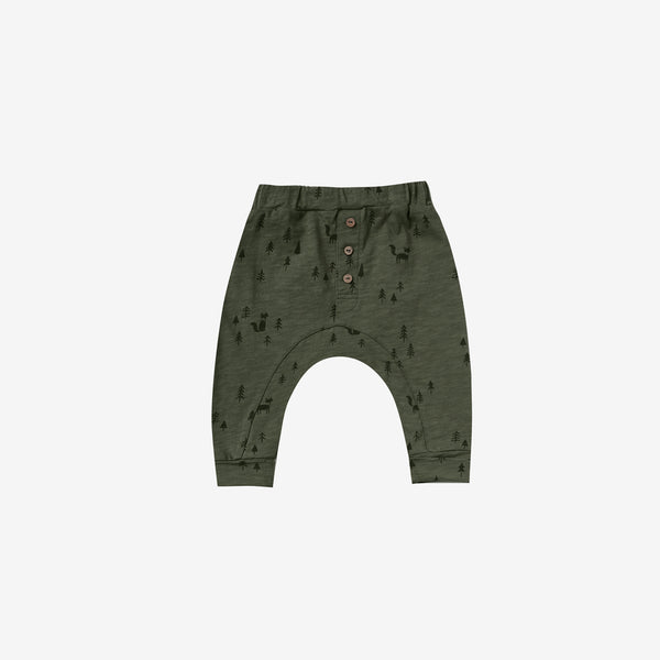 Forest Woods Slub Jersey Baby Pant