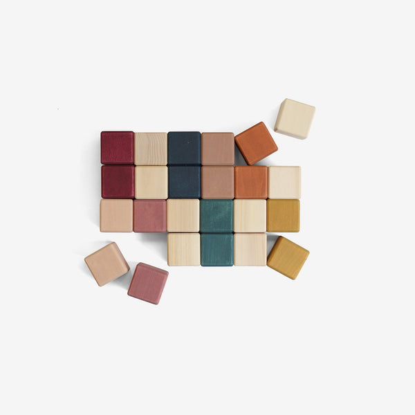 Cube Blocks Set - Autumn