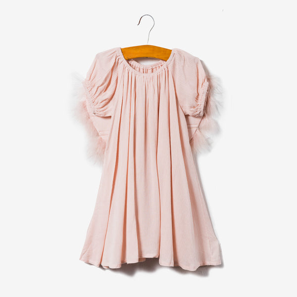 Angel Dress - Peach