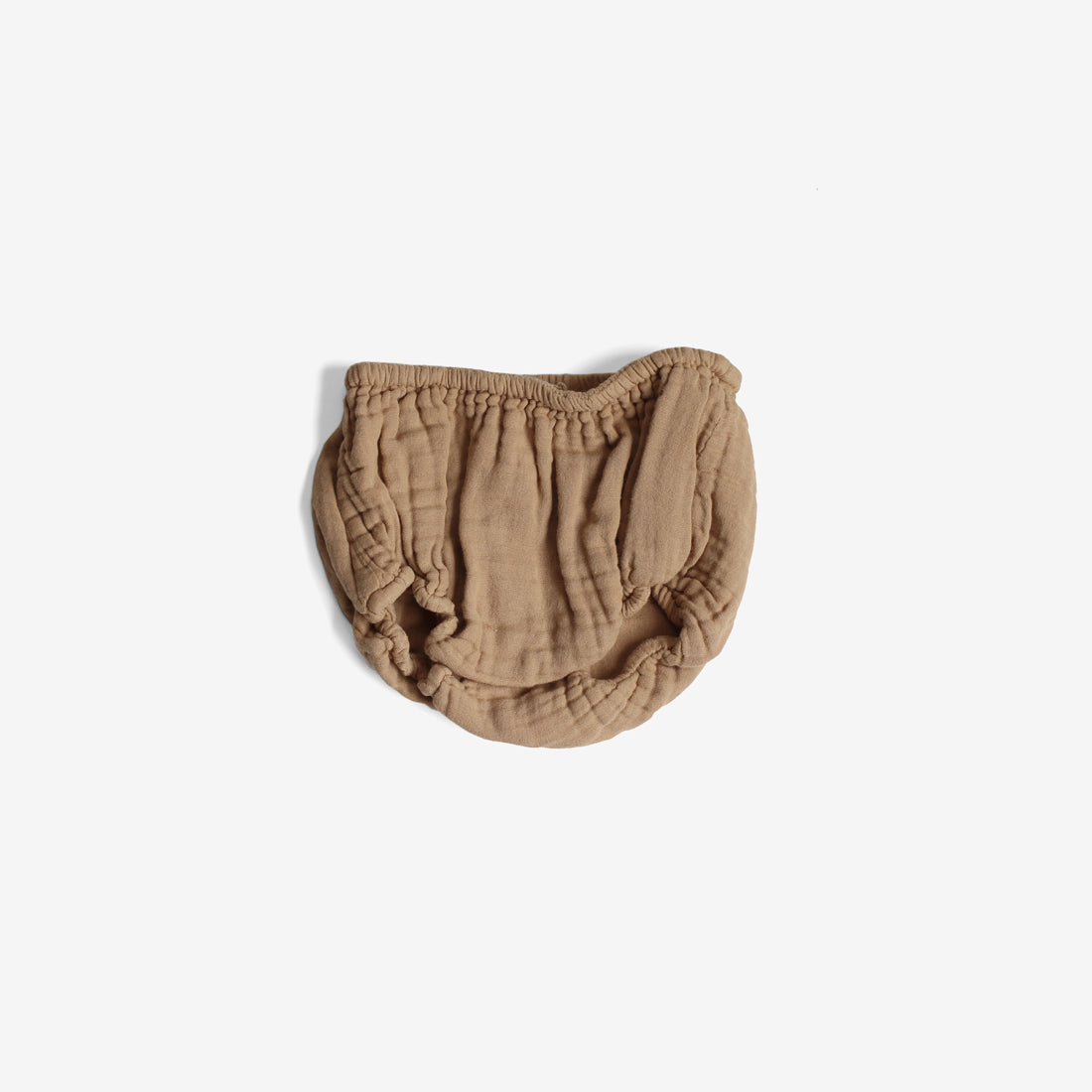 Cotton Woven Muslin Bloomer - Camel